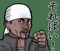 Rapper of kumamoto 3 sticker #11890783