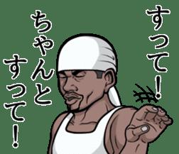 Rapper of kumamoto 3 sticker #11890805
