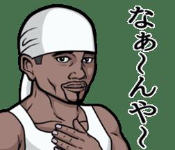Rapper of kumamoto 3 sticker #11890809