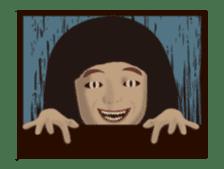 Horror Sticker which works1 sticker #11895995