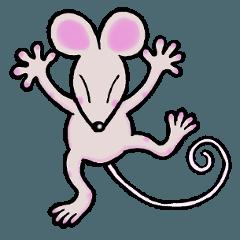 のりのりネズミ