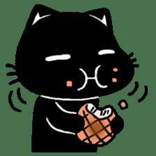mew mew blacky 3 sticker #11903501