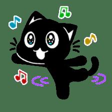 mew mew blacky 3 sticker #11903505