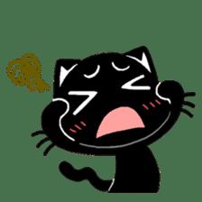 mew mew blacky 3 sticker #11903513