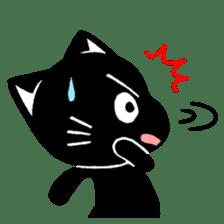 mew mew blacky 3 sticker #11903515
