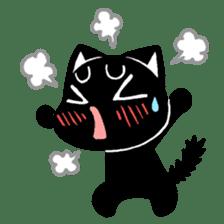 mew mew blacky 3 sticker #11903516