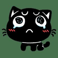 mew mew blacky 3 sticker #11903517