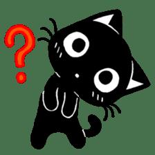 mew mew blacky 3 sticker #11903522