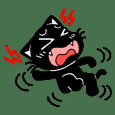 mew mew blacky 3 sticker #11903523