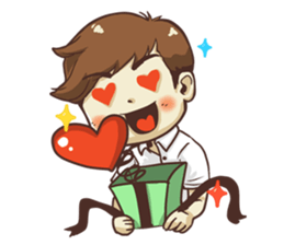 Poor face, Handsome heart.! + sticker #11909952