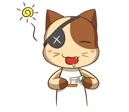 The Official Cat + sticker #11910630