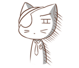 The Official Cat + sticker #11910636