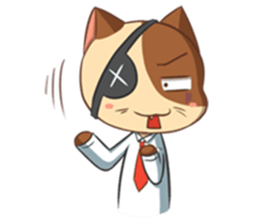 The Official Cat + sticker #11910642