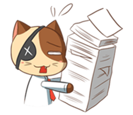 The Official Cat + sticker #11910643