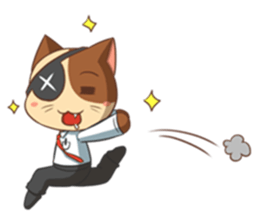 The Official Cat + sticker #11910652