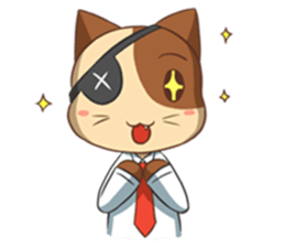 The Official Cat + sticker #11910662