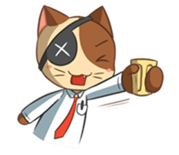 The Official Cat + sticker #11910665