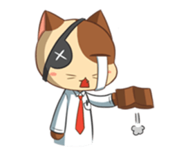 The Official Cat + sticker #11910667