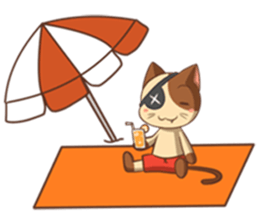 The Official Cat + sticker #11910669