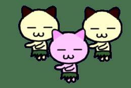 dancing cat sticker #11914146