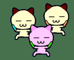dancing cat sticker #11914149