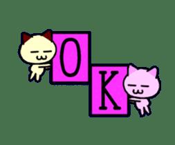 dancing cat sticker #11914164