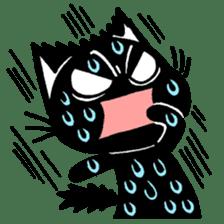 mew mew blacky 2 sticker #11918227