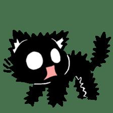 mew mew blacky 2 sticker #11918229