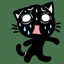 mew mew blacky 2 sticker #11918230