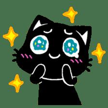 mew mew blacky 2 sticker #11918237