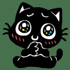 mew mew blacky 2 sticker #11918238