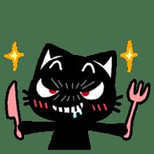 mew mew blacky 2 sticker #11918240