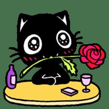 mew mew blacky 2 sticker #11918245