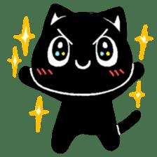 mew mew blacky 2 sticker #11918248