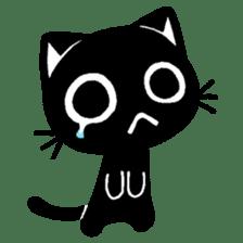 mew mew blacky 2 sticker #11918255