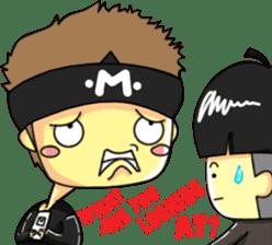 CHIBI FIGHTERS (ENGLISH) sticker #11923065