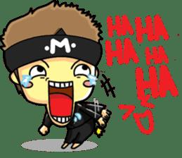 CHIBI FIGHTERS (ENGLISH) sticker #11923068