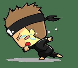 CHIBI FIGHTERS (ENGLISH) sticker #11923070