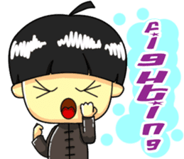 CHIBI FIGHTERS (ENGLISH) sticker #11923089
