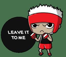 CHIBI FIGHTERS (ENGLISH) sticker #11923100