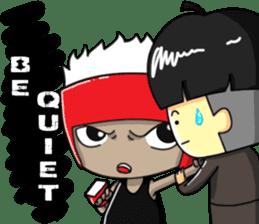 CHIBI FIGHTERS (ENGLISH) sticker #11923101