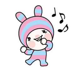 Pink Bar boo sticker #11924459