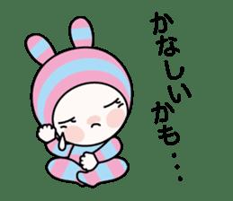 Pink Bar boo sticker #11924475