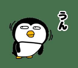 I Penguin 3 aizuchi sticker #11929523