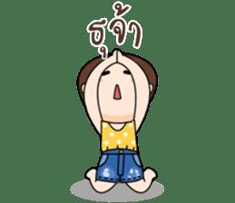 Nong Kam Yui sticker #11930911