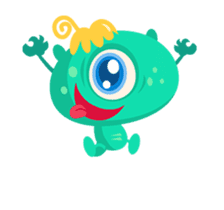 Monsters Animation2 sticker #11932118