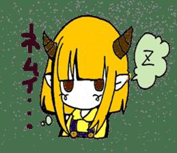 Witch's pupil sticker #11933942