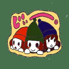 Witch's pupil sticker #11933944