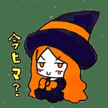 Witch's pupil sticker #11933946