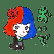 Witch's pupil sticker #11933962